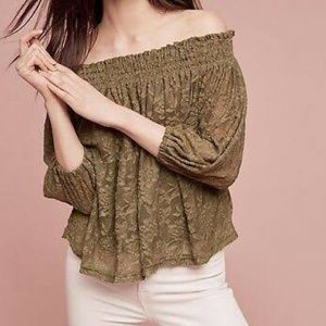 Anthropologie top NEW WITH TAGS!